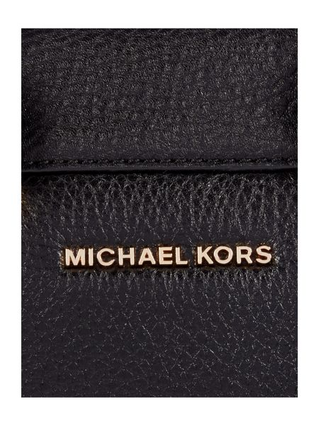 Michael Kors Tracy black small tote bag