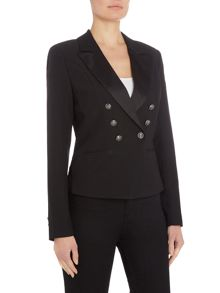 Vila Long Sleeve Button Blazer