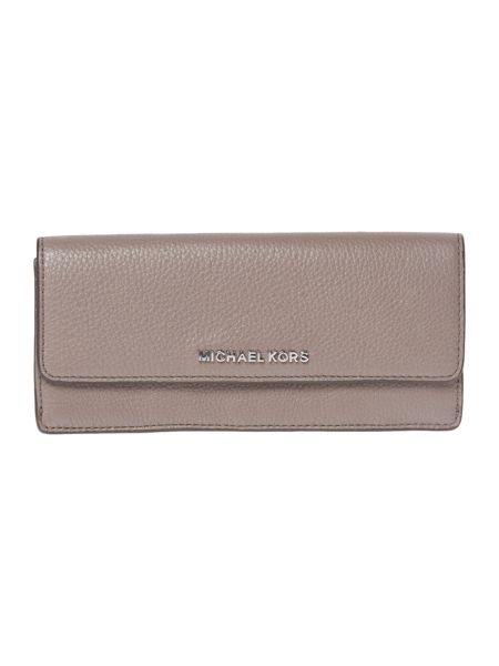 Michael Kors Bedford grey flat flap over purse