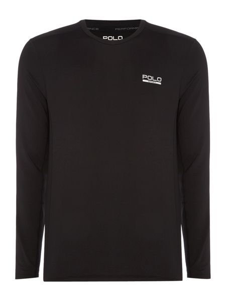 Polo Sport Compression crew neck long sleeve tee