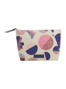 Radley Dapple dog multicolour small makeup bag