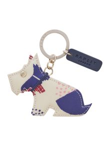 Radley Dapple dog multicolour keyring