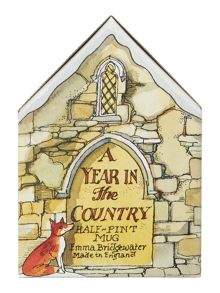 Emma Bridgewater Year in the country scene 1/2 pint mug