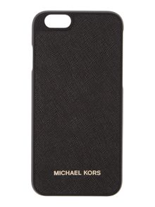 Michael Kors Black saffiano iphone 6 cover