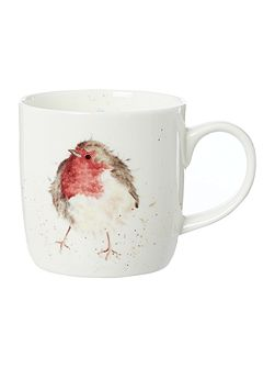 Wrendale garden friend robin mug