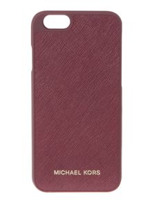 Michael Kors Purple saffiano iphone 6 cover
