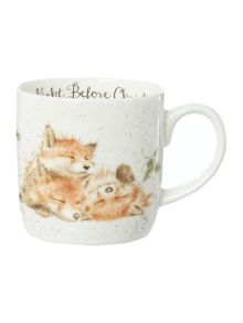 Royal Worcester Wrendale the night before christmas mug