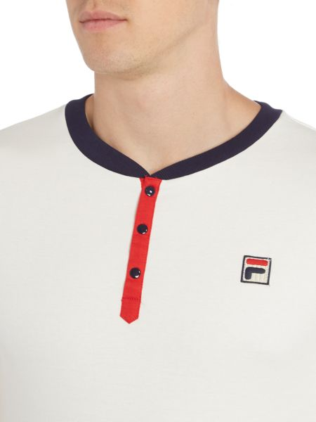 Fila Baseball collar short sleeve t-shirt