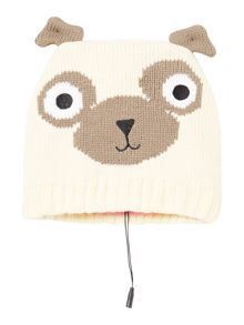KitSound Pug beanie hat