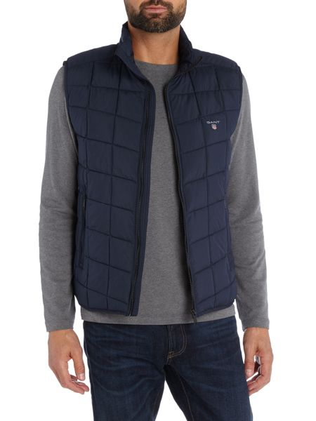 Gant Padded Zip-Through Gilet