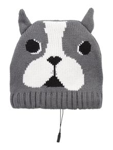 KitSound French bulldog beanie hat