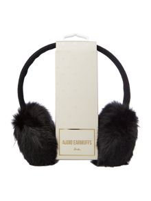 KitSound Faux fur audio earmuffs