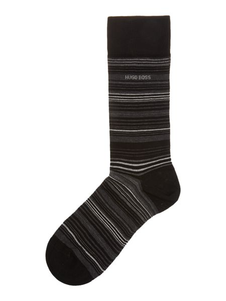 Hugo Boss Mercerised Striped Socks