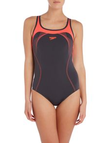 Speedo Endurance kickback swimsuit