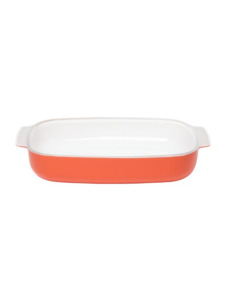Creo SmartGlass Large Baking Dish, Shanghai Red