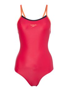Speedo Thinstrap endurance muscleback swimsuit