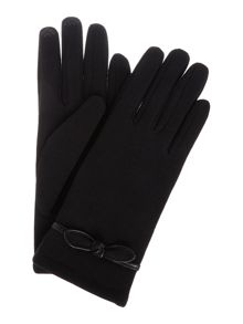 Isotoner Smart touch thermal glove with knot detail