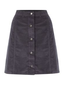 Vila Button Cord Mini Skirt