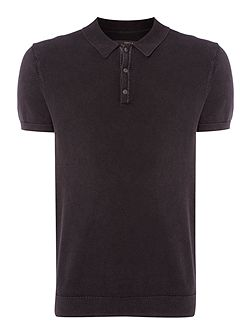 Lewis Knitted Polo Shirt