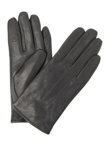 Isotoner Three point leather glove