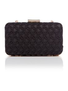 Lipsy Black clutch bag