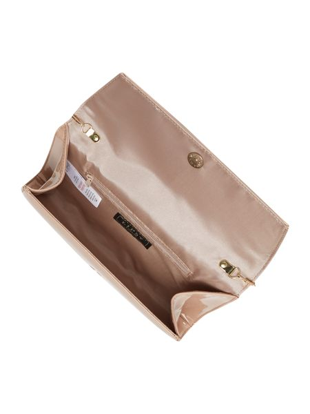 Lipsy Neutral clutch bag