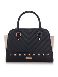 Lipsy Black stud tote bag
