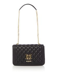 Love Moschino Superquilt foldover bag