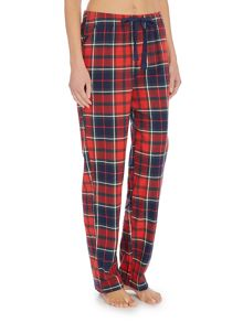 Pieces Xmas checked pyjama pant