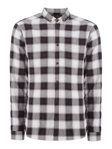 Label Lab Des Twill Checked Shirt
