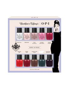 OPI Breakfast at Tiffanys Collection Mini 10 Pack