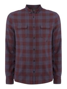 Label Lab Max Linen Mix Checked Shirt