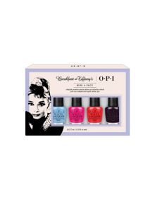 OPI Breakfast at Tiffanys Collection Mini 4 Pack