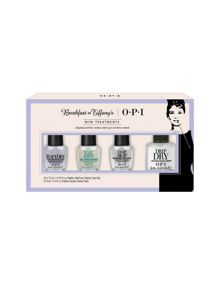 OPI Breakfast at Tiffanys Collection Mini Treatment