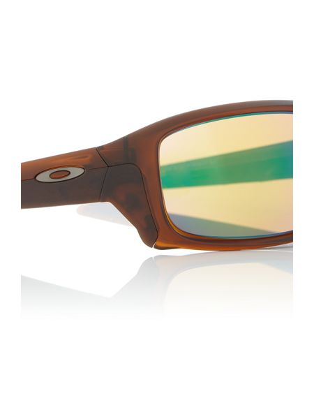 Oakley Brown rectangle OO9331 sunglasses