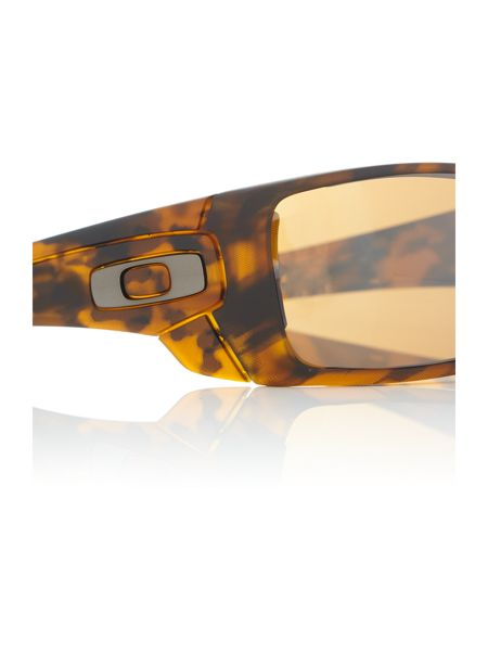 Oakley Havana rectangle OO9101 sunglasses
