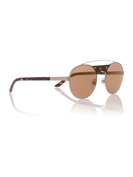 Armani Jeans Gold round AR6047 sunglasses