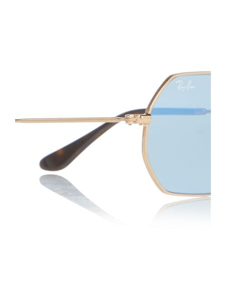 Ray-Ban Gold irregular RB3556N sunglasses