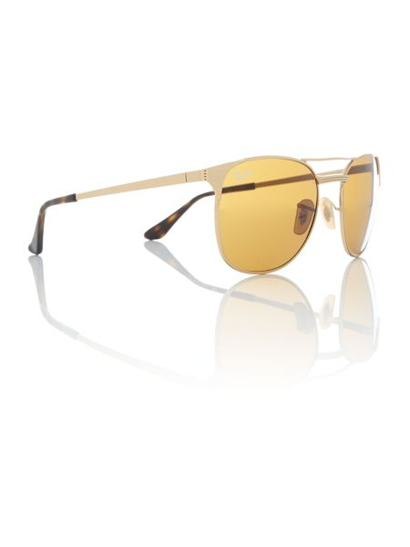 Ray-Ban Gold square RB3429M sunglasses