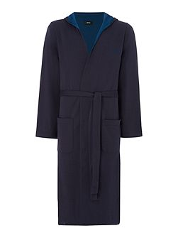 Double Face Hooded Robe