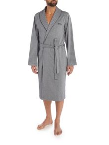 Hugo Boss Herringbone Shawl Collar Robe