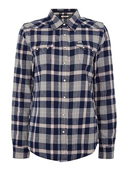 Long sleeve regular western shirt