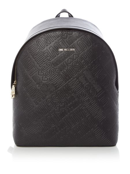 Love Moschino Stitch backpack