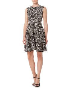 Marella Gondola printed fit and flare dress