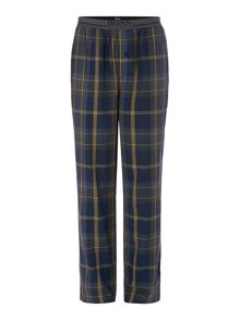Hugo Boss Checked woven pyjama bottoms