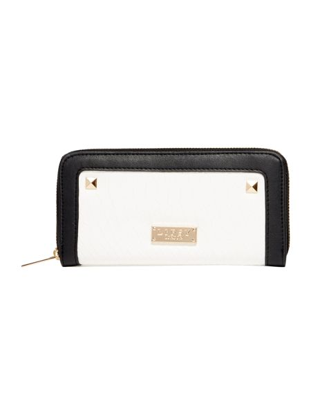 Lipsy Black ziparound purse