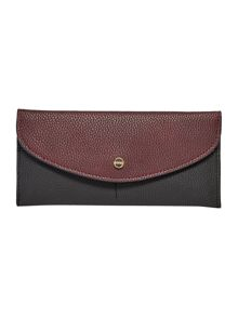 Lipsy Black foldover purse
