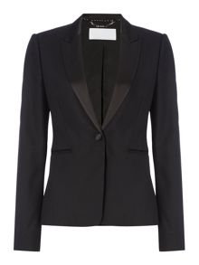 Hugo Boss Jakinana 1-Button Smoking Tux Jacket