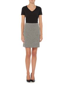 Hugo Boss Marelia Tweed A Line Skirt