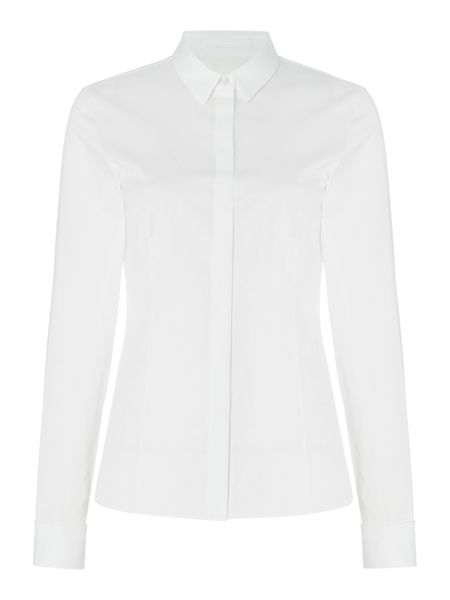Hugo Boss Bitara Cotton Cufflink Detail Shirt